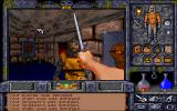 Ultima Underworld II: Labyrinth of Worlds DOS World 2: Killorn Keep. Oriental market.