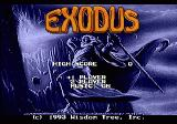 Exodus: Journey to the Promised Land Genesis Title Screen