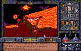 Ultima Underworld II: Labyrinth of Worlds DOS World 8: Ethereal Void. Colorful dreamworld.