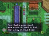 The Legend of Zelda: Four Swords Adventures GameCube There's some suspicious activity in this town...