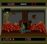 Splatterhouse TurboGrafx-16 first boss