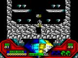 Captain Dynamo ZX Spectrum Just teleported to first cavern