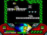 Captain Dynamo ZX Spectrum Killed by armored turtle