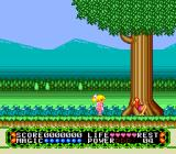 Fushigi no Yume no Alice TurboGrafx-16 The Forest